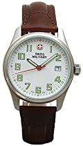 Swiss Military Field II Brown Band Watch
