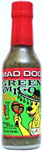 Mad Dog Green Amigo Jalapeno Hot Sauce 12 - 5oz Bottles Case