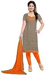 WALKNSHOP Women's & Girl's Chudidar unstiched Dress Material