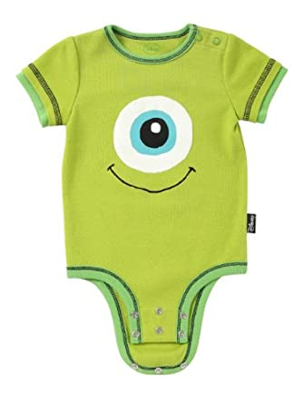 Disney Cuddly Bodysuit -  Fashion: Disney / Pixar MONSTERS, INC. Eye, Green, 3-6 Months