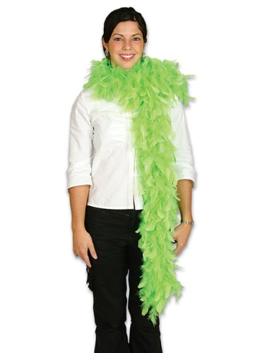 "Large Light Neon Green 72"" Costume Accessory Feather Boa"