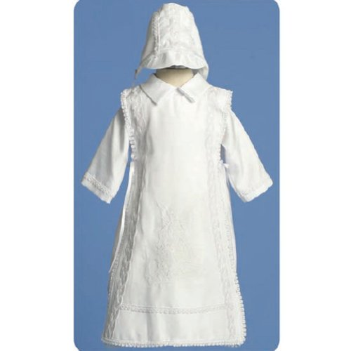 Angels Garments Baby Boys White Christening 3 piece Outfit Set 0-3M