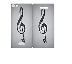 Techno Gadgets Flip Cover for LYF FLAME 8