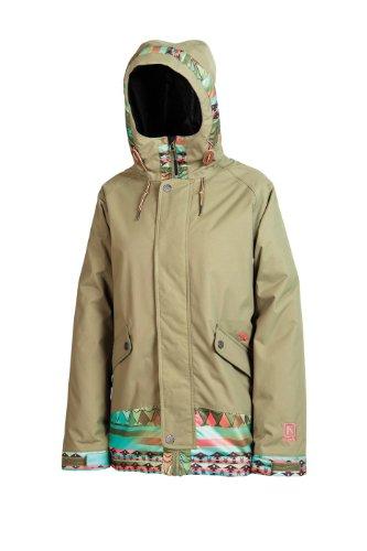 Nitro Snowboards Damen Snowboardjacke Cinema Jacket 14, army-future strip, M, 1141-873127