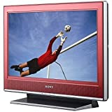 Sony Bravia S-Series KDL-26S3000/R 26-Inch 720p LCD HDTV, Red