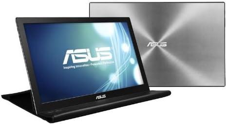 ASUS薄い・軽量、USBで簡単接続、15.6型WXGA モバイルディスプレイ ( 厚さ8mm / 重さ800g / 1,366×768 / USB3.0 / ノングレア / 3年保証 ) MB168B