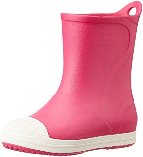 Crocs Bumpitbootk, Stivaletti Unisex - Bambini, Rosa (Candy Pink/Oyster), 23-24 EU