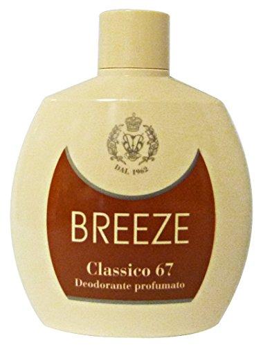 BREEZE Deo.squeeze classico 67 100 ml. - Deodorante femminile e unisex