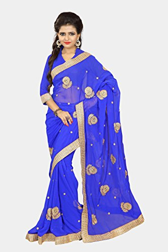 Chirag Sarees Designer Partywear Bridal Marriage Collection395-BLUE