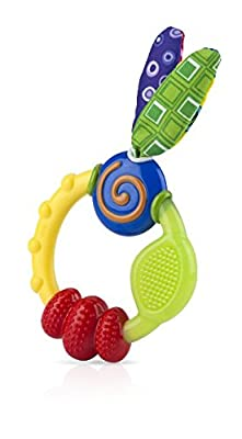 Nuby Wacky Teething Ring by LUCK