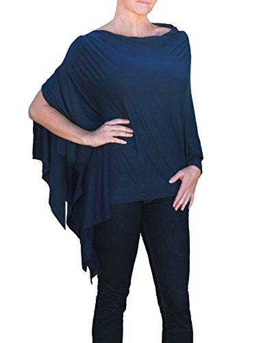 Bizzy Babee Breastfeeding Nursing Cover (Eco Navy)