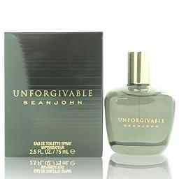 Unforgivable By Sean John For Men. Eau De Toilette Spray 2.5 OZ