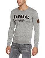Kaporal Copy - Sweat-shirt - Coupe droite - Uni - Manches longues - Homme