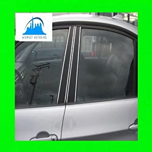 2002-2008 HYUNDAI ACCENT CHROME PILLAR POST TRIM 2003 2004 2005 2006 2007 02 03 04 05 06 07 08
