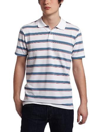 Unionbay Men's Short Sleeve Palmer Pique Polo Shirt, White, Small