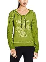 CMP Campagnolo Camiseta Manga Larga 3D45146 (Verde)