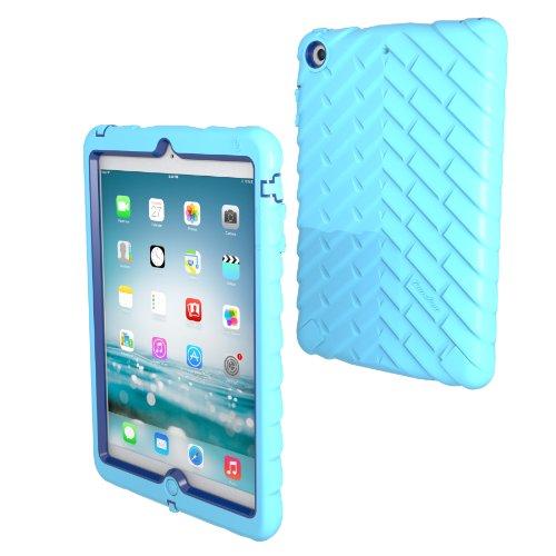 Apple iPad mini iPad mini Retina iPad mini 3 Drop Tech Light Blue Gumdrop Cases Silicone Rugged Shock Absorbing Protective Dual Layer Cover Case (Ipad Blue Case compare prices)