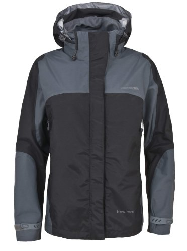 Trespass Women's Kangchen Trestex Jacket - Black, Medium
