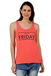 Frost Coral Printed Tank Top