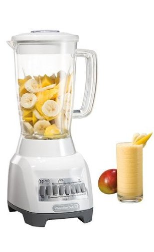 Proctor-Silex 50124 10-Speed Durable Counter Top 500 Amp Powerful Mixer/Blender