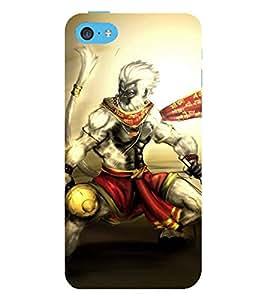 Vizagbeats hanuman Back Case Cover for Apple iPhone 5::Apple iPhone 5S