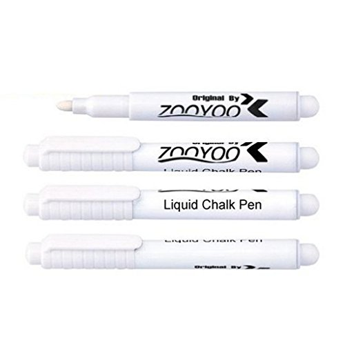 huayang-utility-erasable-white-liquid-chalk-pen-chalkboard-sticker-marking-easy-wipe-off-2pcs