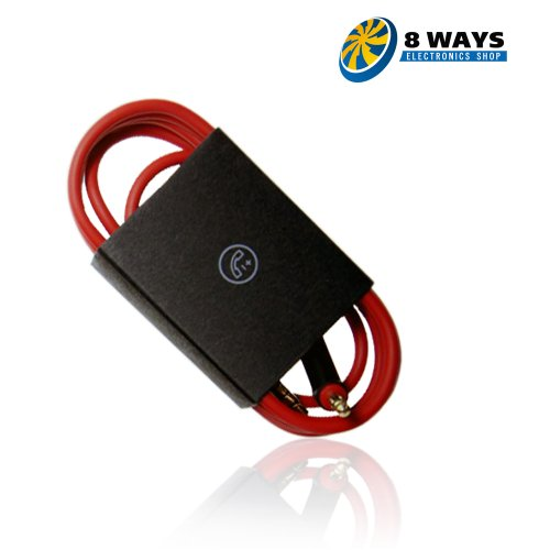 Maxinity Remotetalk Cable For 2013 Beats Studio Headphone - Inline Remotetalk Replacement Cable