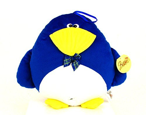 "Bestever Plush Penguin Pillow 10"" - 1"