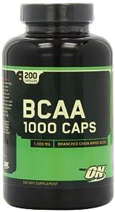 Optimum Nutrition BCAA 1000 Pack of 200 Capsules