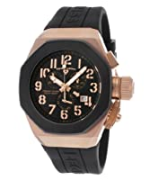 Swiss Legend Men's 10542-RG-01-BB Trimix Diver Chronograph Black Dial Black Silicone Watch from Swiss Legend