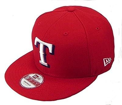 New Era Texas Rangers Link MLB Snapback Men Hat Cap Red 9fifty
