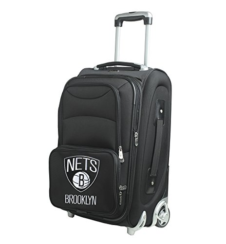 denco-nba-new-jersey-nets-in-line-skate-wheel-carry-on-luggage-21-inch-black