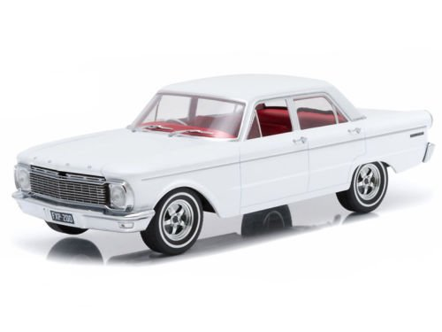 1965 Ford XP Falcon White 50th Anniversary Limited to 250pc with Certificate of Authenticity & Mag Wheels die cast car model by Greenlight DDA003-B (1965 Ford Falcon Model compare prices)