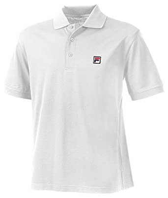 Buy Fila Mens Advantage Polo Button Comfort Tennis Shirts by Fila