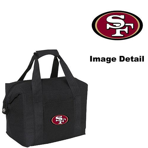 San Francisco 49Ers 12-Pack Sports Drink Beer Water Soda Beverage Can Bottle Insulated Picnic Outdoor Party Beach Bbq Kooler Cooler Bag front-949647
