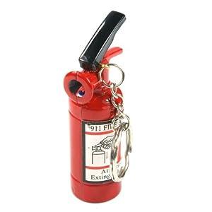 Mini Fire Extinguisher Style Butane Novelty Lighter