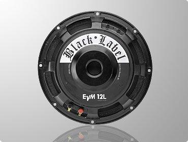 Electro Voice Evm12L Black Label Guitar Speaker (12 Inch, 300 Watts/1200 Watts Peak, 16 Ohms)