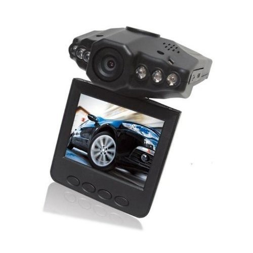 Sodial- 2.5-Inch Hd Car Led Ir Vehicle Dvr Road Dash Video Camera Recorder Traffic Dashboard Camcorder - Lcd 270 Degrees Whirl