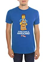 The LEGO Movie Everything Is Awesome! Slim-Fit T-Shirt Size : Medium