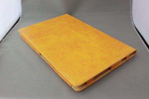 Homu HomuXperia Tablet Z SO-03E全6色PUレザーケース PUレザーカバー エクスペリアタブレットZ レザーケースレザーカバースタンド機能付/SGP312JP (イエロー)(22-6)