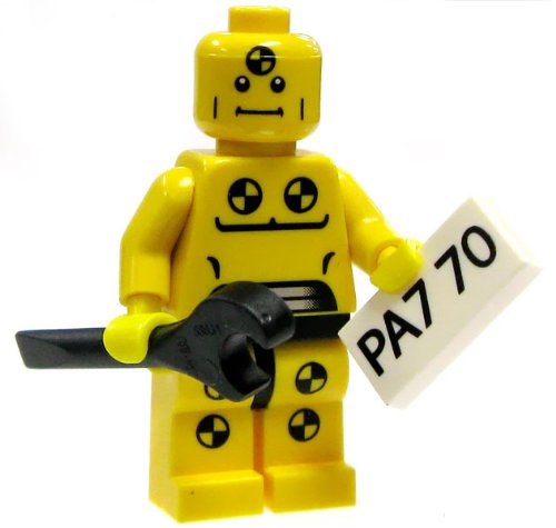LEGO-Minifigure-Collection-Series-1-LOOSE-Mini-Figure-Demolition-Dummy