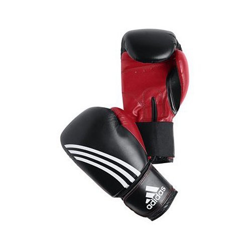 Adidas Response Boxing Gloves - Black/Red - 12oz