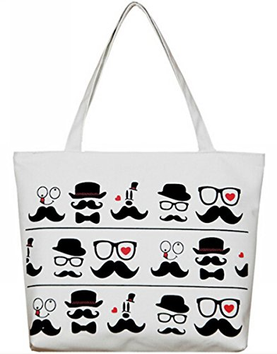 Uget-Cartoon-Printed-Canvas-Shoulder-Bag