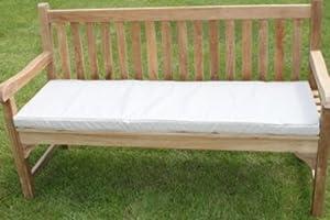 Mobilier de jardin coussin pour banc de jardin 3 places for Coussin de banc exterieur