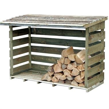 Xtra Large Log Store - Increased air circulation for Maximum Heat Output