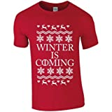 Winter Is Coming Funny Mens Christmas Tshirt S M L for sale  Delivered anywhere in Ireland