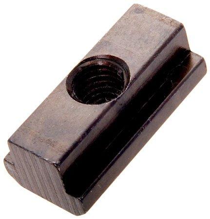 AMF TN-27 Steel Chamfered T-Slot Nut M8 x 1.25 thd., 10mm Table Slot