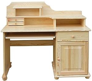 Schreibtisch Kiefer massiv Vollholz natur Junco 188