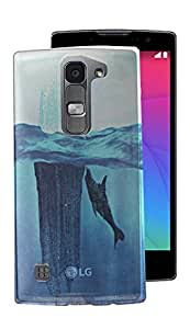 ECellStreet Exclusive Printed Soft Back Case Cover Back Cover For LG SPIRIT (LG-H422)- Fish