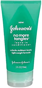 Johnson's No More Tangles Leave-in Conditioner, 5 Ounce (Pack of 2)